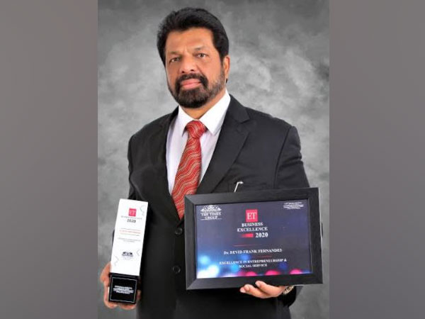 Dr Devid Frank Fernandes, Excellence in Entrepreneurship & Social Service