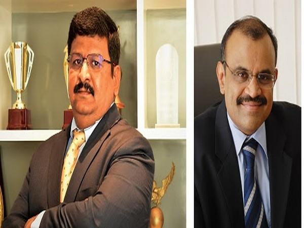 L-R: Prassadh Shanmugam, Director and Chief Executive Officer, KGISL and Dr Ashok Bakthavathsalam, Managing Director, KGISL