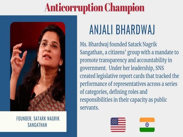 Activist Anjali Bhardwaj
