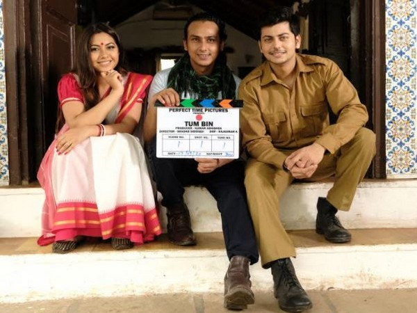 Reem Shaikh Abhishek Nigam Shadab Siddiqui - on shoot location