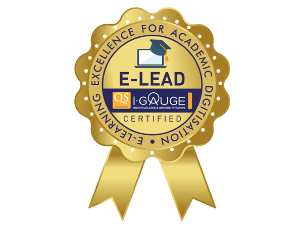 Avantika University certified with E-LEAD Certification by QS I-Gauge India