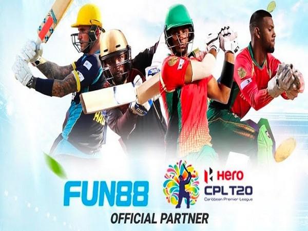 FUN88 associates with Caribbean Premier League 2020