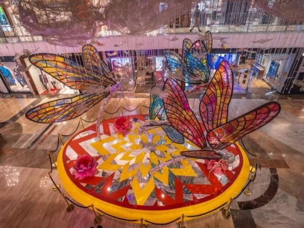 """The Flight of Hope""- Special Festive Decor at High Street Phoenix & Palladium"