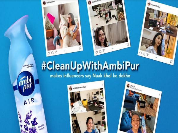 Influencers take up the #CleanupWithAmbiPur challenge