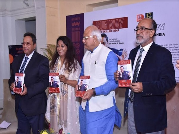 Noted educationist Dr Darlie Koshy's new book unveiled at the India Craft Week