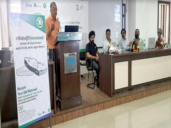 India's First ever Mattress recycling campaign by IPUA, ISPF and The Kabadiwala