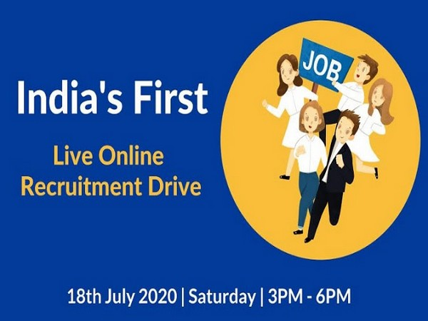 India's first online recruitment drive