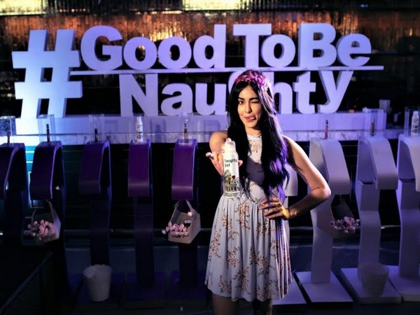 Adah Sharma at the launch of Naughty Girl - Lyla Blanc's new range of fragrance