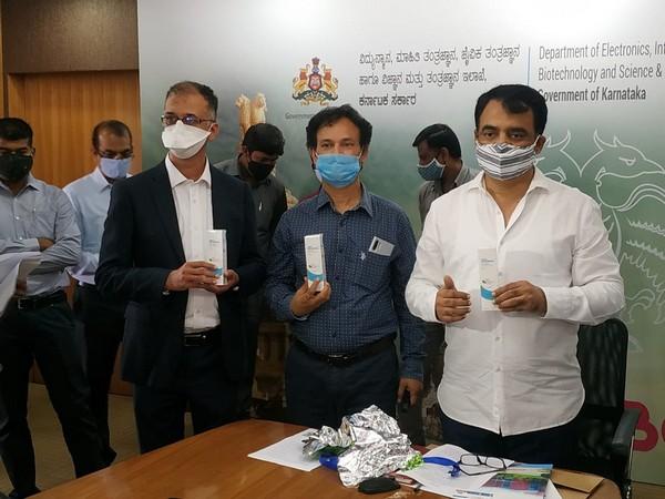 Dr Hrishikesh Damle and IT Minister Ashwath Narayana