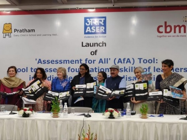 Launch of Assessment for All (AfA) Tool by CBM India Trust, Pratham and ASER