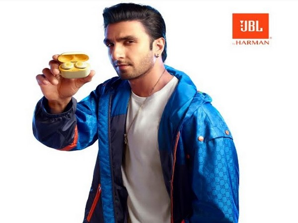 Live it real and Live it raw, JBL - Ranveer Singh