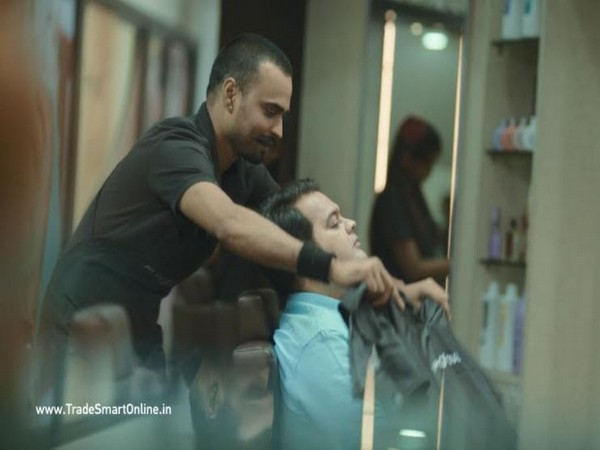 A still from the ad