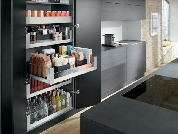 Blum's SPACE TOWER Unit by Hafele