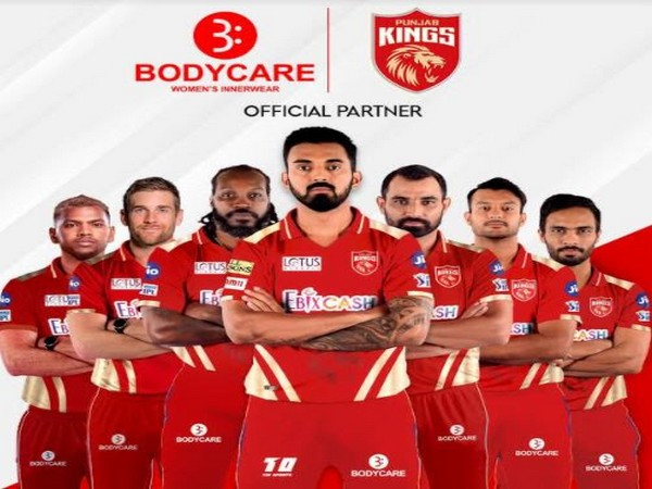 Bodycare Creations - Official Partner of Punjab Kings