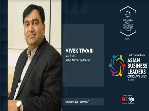 Vivek Tiwari, MD, CEO and CIO, SATYA MicroCapital Limited