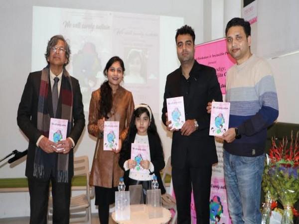 Child prodigy Abhijita Gupta launches her new book 'We will Surely Sustain'