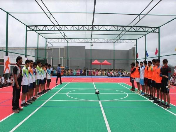 Football match at Elpro International School