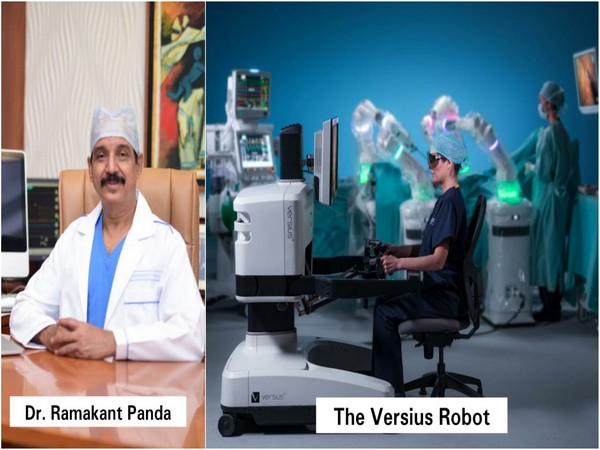 Dr Ramakant-The Versius Robot