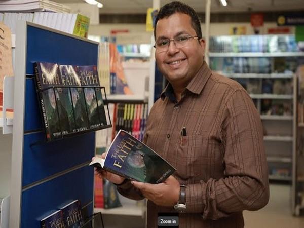 Major Piyush Semwal at the launch of his maiden novel