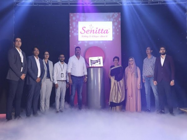 A glimpse from Senitta product launch with the Honourable Sanyukta Bhatia, Mayor, Lucknow in attendance