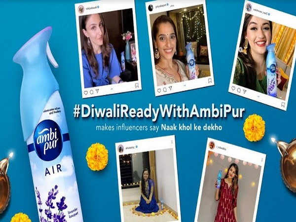 Leading actresses and popular influencers got #DiwaliReadyWithAmbiPur