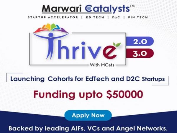 Marwari Catalysts Upcoming Cohorts - Thrive 2.0 and Thrive 3.0