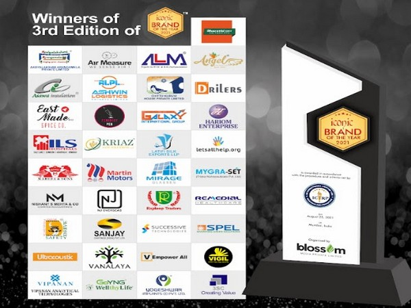 Winners of 3rd Edition of 'Iconic Brand of The Year' 2021 Award
