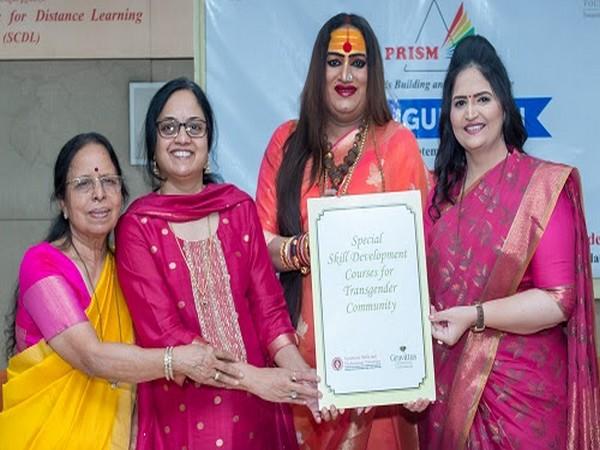 Sanjivani Mujumdar, Dr. Swati Mujumdar, Hon. Laxmi Narayan Tripathi, Usha Kakade at the announcement of the Launch