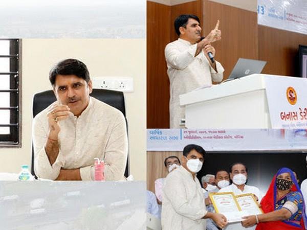 Shankar Chaudhary, Chairman of Banas Dairy