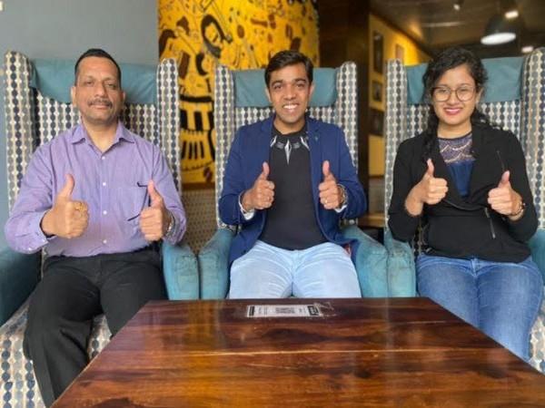 L to R: Lavender Singh, Amol Bagul and Aditi Poyam