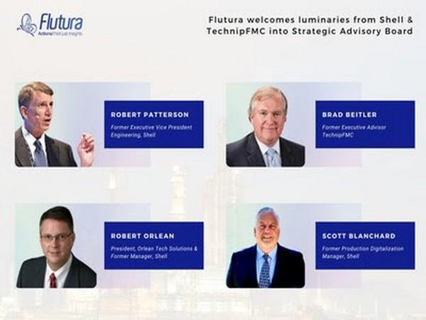 Robert Pattinson, Brad Beitler, Robert Orlean and Scott Blanchard join Flutura's strategic advisory board