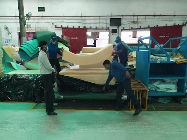 In view of the rising demand of hospital beds for catering to COVID-19 patients, Sleepwell's manufacturing facilities were operational at optimum capacity.