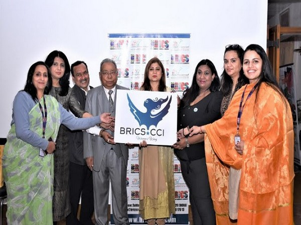 Dr BBL Madhukar, Director General- BRICS CCI with representatives of the newly launch BRICS CCI Women's Wing