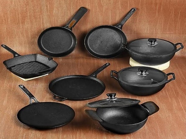 Vinod Cookware Cast iron product range