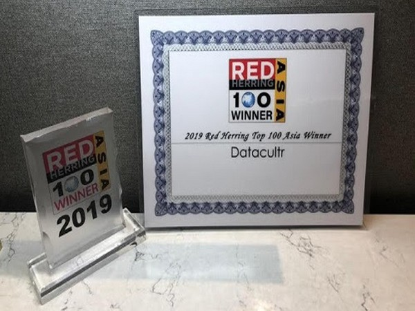 Datacultr wins 2019 Red Herring Top 100 Asia Award