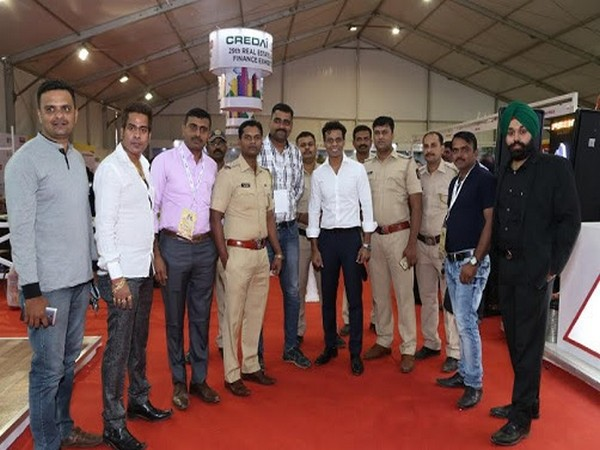 Police and Govt. officials visit to the CREDAI MCHI 29th Property Expo