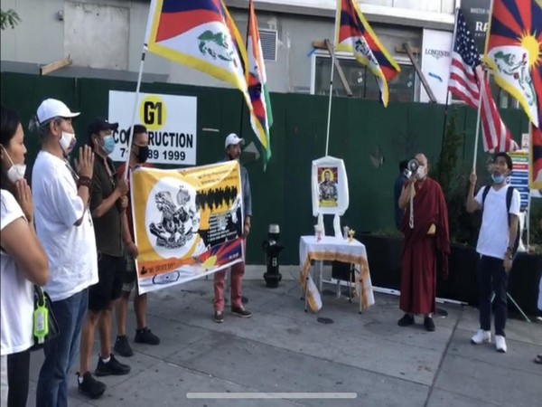 The Tibetan community across the world are angry about China's recent aggression in Ladakh