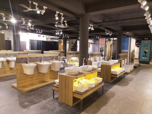 Asian Granito 10,000 Sq. feet Kochi Display Showroom