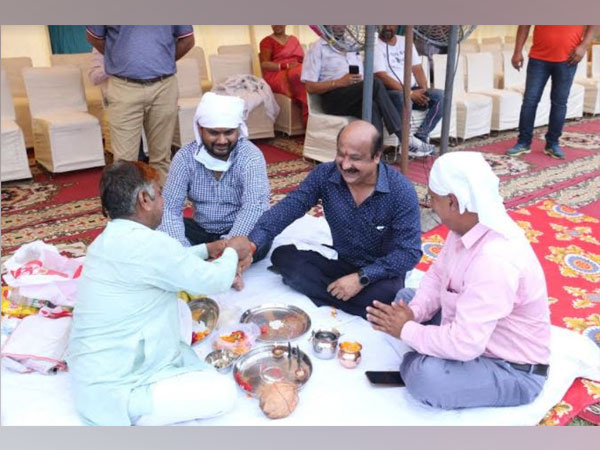 Bhoomi Pujan ceremony of Bliss Homes
