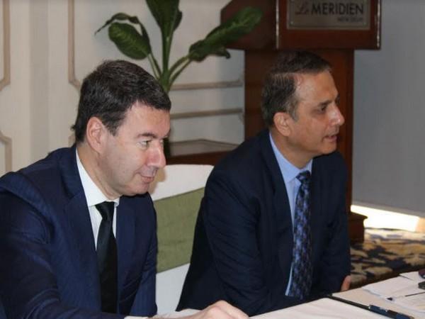 Laurent Germain, CEO, Egis and Sandeep Gulati, MD, Egis India