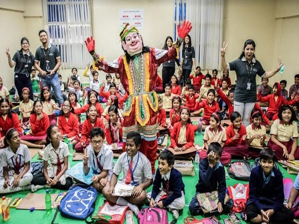 A moment from the Kalyani Ananda Utsav 2019, which touched the lives of 600+ underprivileged children