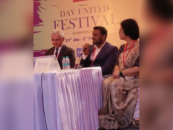 Rohit Gajbhiye at DAV united festival 2020