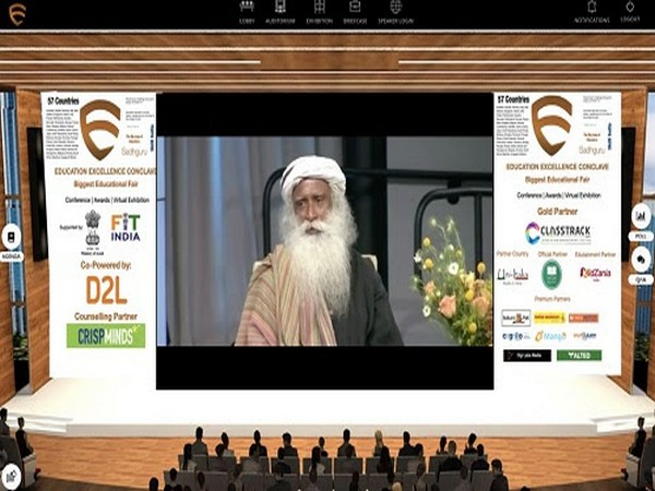 Glimpse of a Session held at Education Excellence Conclave on 18th & 19th June. Credits: Isha Foundation & Sadhguru
