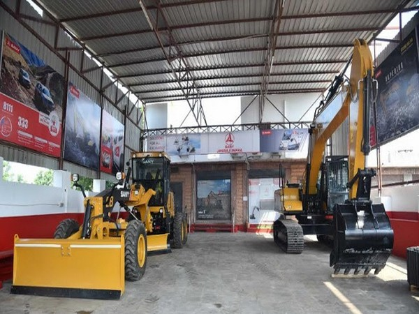 Sany India's robust machines at the Jasraj Infra, Jodhpur