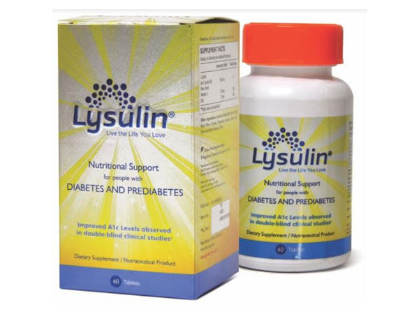 Lysulin - a patented nutritional supplement for diabetes