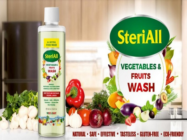 SteriAll - Vegetables and Fruits Wash Banner