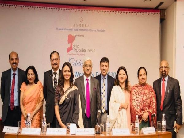 L to R: P Balaji, Girija Krishan Verma, Lt Gen Rajesh Pant, Vinita Bakshi, Anshu Prakash, Ajay Yadav, Swati Rangachari, Sonia Rai and Sandeep Bhargava