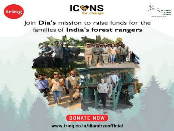 Dia Mirza supporting frontline forest staff across India