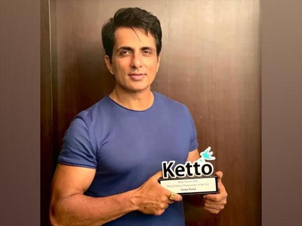 Sonu Sood winner of Ketto Awards 2020 Best Celebrity Changemaker