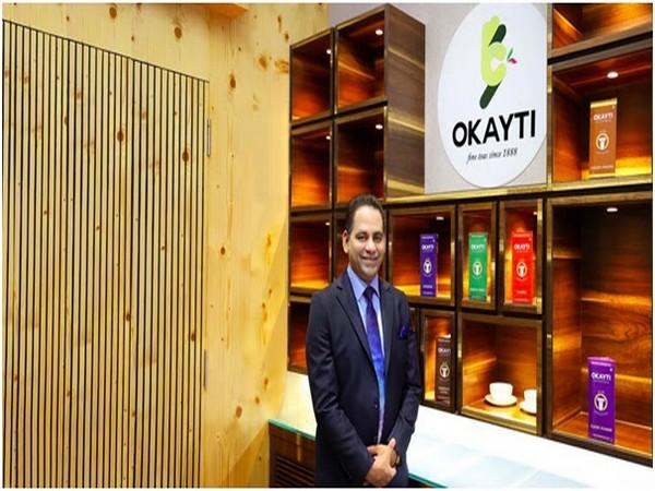 Rajeev Baid, Founder Evergreen Group, and Chai Chun - recently acquired Okayti Tea Estate